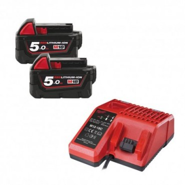 Pack NRJ 18V avec 2 batteries
