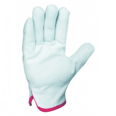 10 paires de gants en cuir...