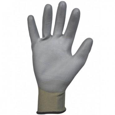Gant polyamide gris noir...