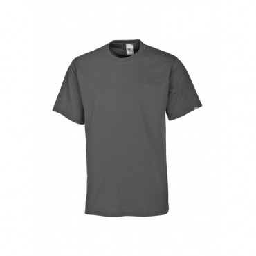 T-shirt unisexe gris foncé
