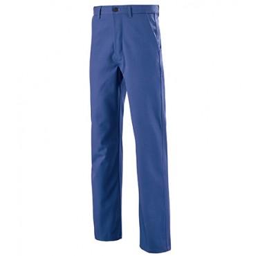 Pantalon coton bleu 100% coton