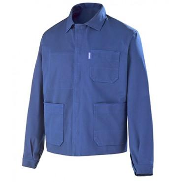 Veste coton bleue 100% coton