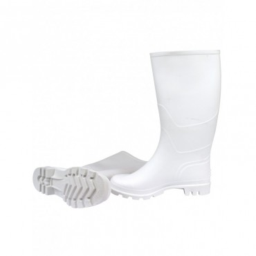 Bottes PVC blanches sans...