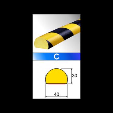 Profilé flexible surface...
