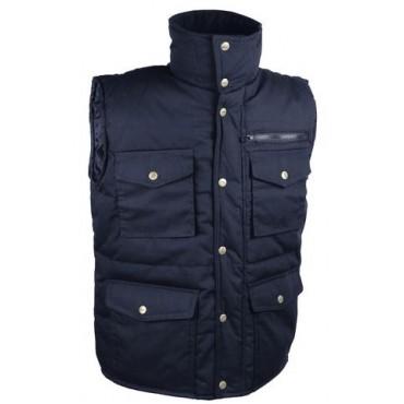 Gilet polyester / coton...