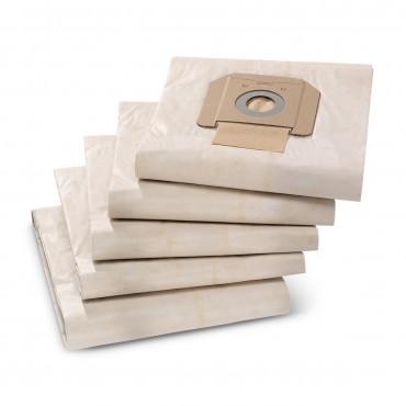 5 Sacs filtrants papier...