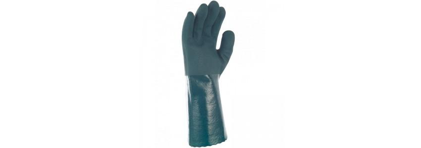 Les gants pour produits chimiques liquides